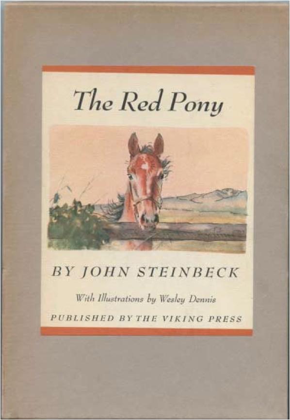 the red pony by john steinbeck essays Essays and criticism on john steinbeck's the red pony - the red pony.
