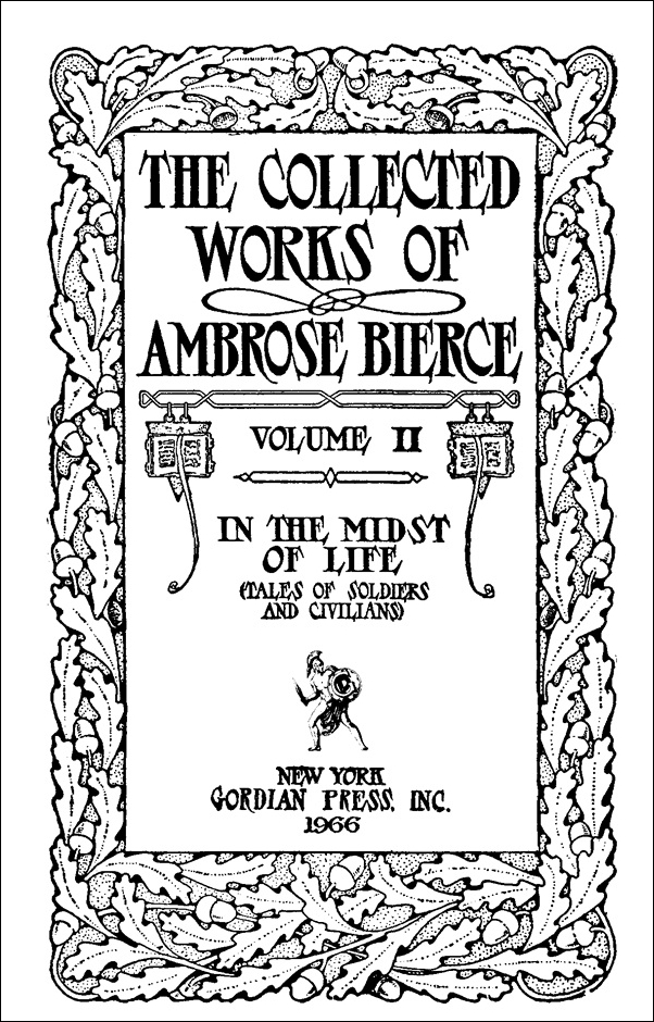 ambrose bierce essay Book reports essays: the occurrence at owl creek bridge, by ambrose bierce.